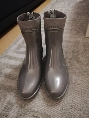 Tommy Hilfiger Wellies silver-colored