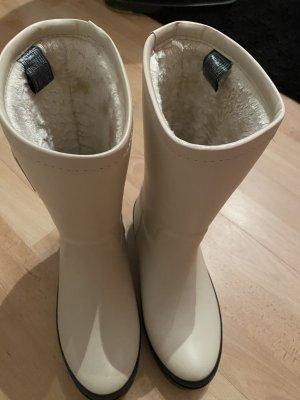 Tommy Hilfiger Stivale di gomma crema-bianco sporco