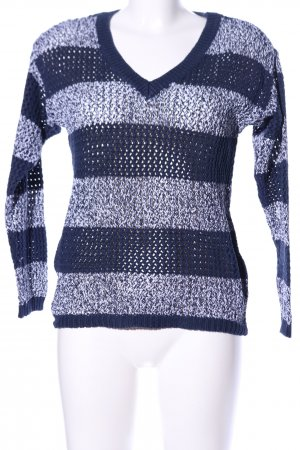 Tommy Hilfiger Crochet Sweater black-blue flecked casual look
