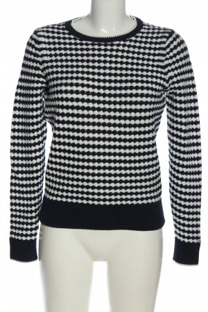 Tommy Hilfiger Crochet Sweater white-blue casual look