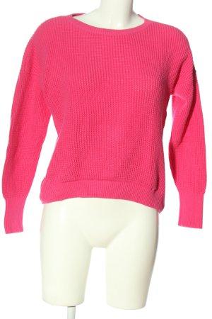 Tommy Hilfiger Häkelpullover pink Casual-Look