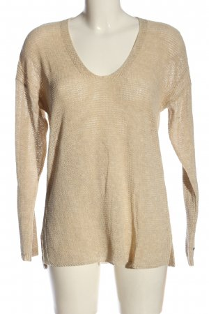 Tommy Hilfiger Crochet Sweater cream casual look