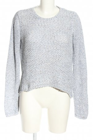 Tommy Hilfiger Crochet Sweater light grey casual look