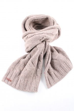Tommy Hilfiger Crochet Scarf natural white cable stitch casual look