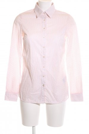 Tommy Hilfiger Hemd-Bluse pink-hellorange Punktemuster Casual-Look