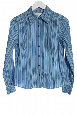 Tommy Hilfiger Hemd-Bluse blau Streifenmuster Business-Look