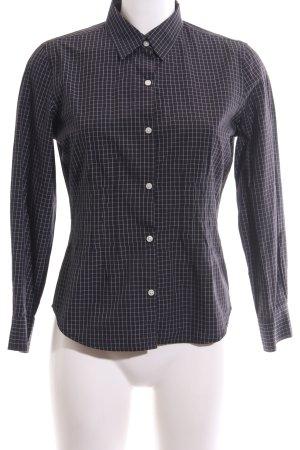 Tommy Hilfiger Hemd-Bluse schwarz-weiß Allover-Druck Casual-Look