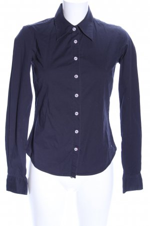 Tommy Hilfiger Hemdblouse blauw zakelijke stijl