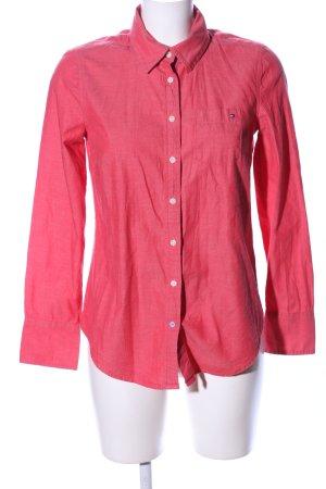 Tommy Hilfiger Hemd-Bluse pink meliert Business-Look