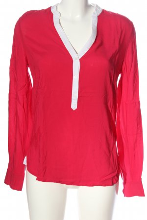 Tommy Hilfiger Hemd-Bluse rot-weiß Casual-Look