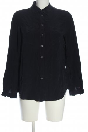 Tommy Hilfiger Hemd-Bluse schwarz Casual-Look