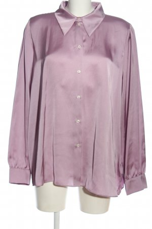 Tommy Hilfiger Hemd-Bluse lila Casual-Look