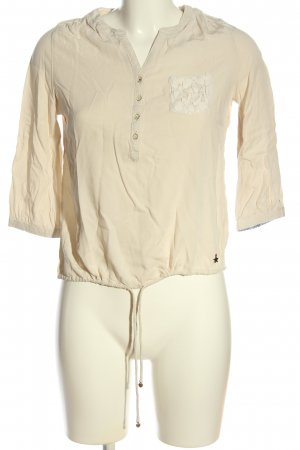 Tommy Hilfiger Hemd-Bluse wollweiß Business-Look