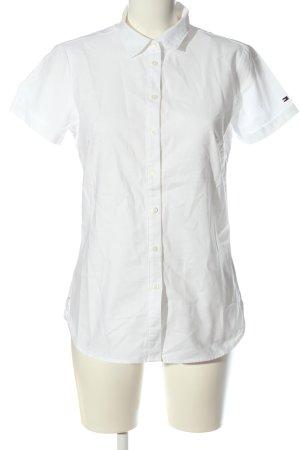 Tommy Hilfiger Hemd-Bluse weiß Business-Look