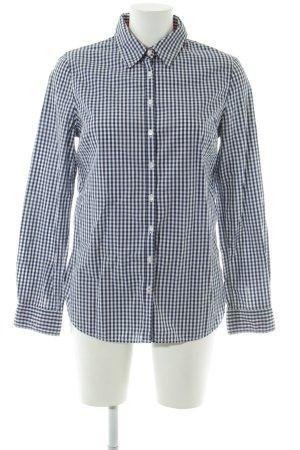 Tommy Hilfiger Blouse-chemisier bleu-blanc motif à carreaux style décontracté