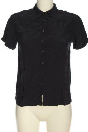 Tommy Hilfiger Hemd-Bluse schwarz Business-Look