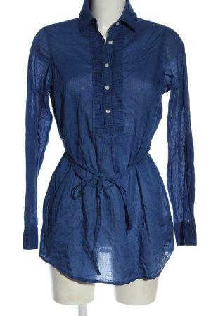 Tommy Hilfiger Hemd-Bluse blau Casual-Look