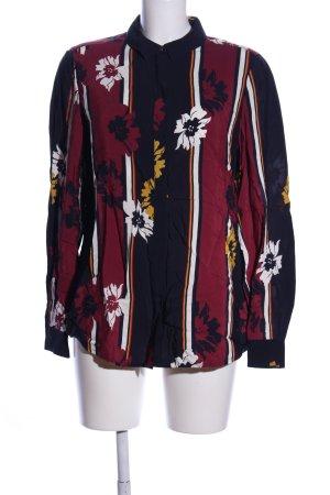 Tommy Hilfiger Hemd-Bluse Blumenmuster Elegant