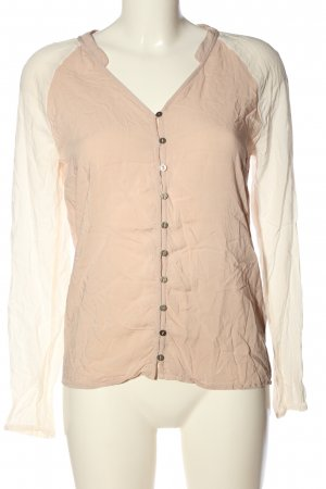Tommy Hilfiger Hemd-Bluse weiß-nude Casual-Look