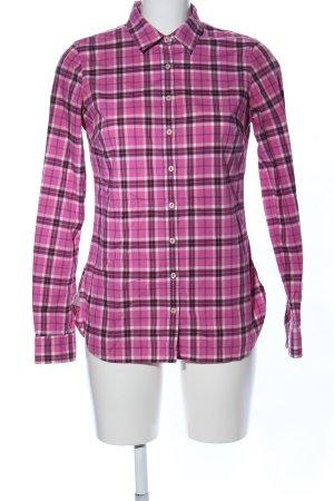 Tommy Hilfiger Hemd-Bluse Karomuster Casual-Look