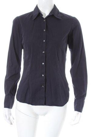 Tommy Hilfiger Hemd-Bluse dunkelblau klassischer Stil