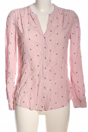 Tommy Hilfiger Hemd-Bluse pink Allover-Druck Casual-Look