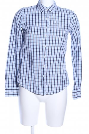 Tommy Hilfiger Shirt Blouse blue-white check pattern casual look