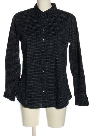 Tommy Hilfiger Hemd-Bluse schwarz-weiß Punktemuster Casual-Look