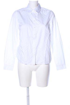 Tommy Hilfiger Hemd-Bluse weiß Allover-Druck Business-Look
