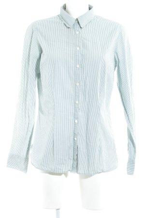 Tommy Hilfiger Hemd-Bluse weiß-waldgrün Casual-Look