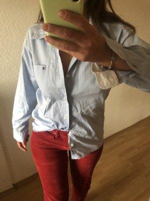 Tommy Hilfiger Jeansowa koszula błękitny