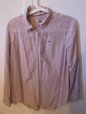 Tommy Hilfiger Shirt met lange mouwen wit-roségoud