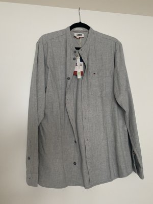 Tommy Jeans Flannel Shirt light grey