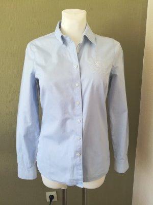 Tommy Hilfiger Shirt Blouse azure cotton