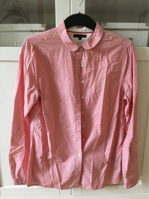 Tommy Hilfiger Denim Shirt Blouse white-brick red