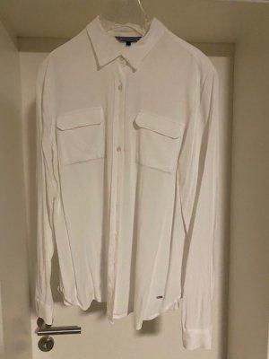 Tommy Hilfiger Hemdblouse wit