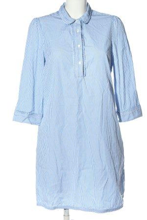 Tommy Hilfiger Hemdblusenkleid blau-weiß Streifenmuster Casual-Look