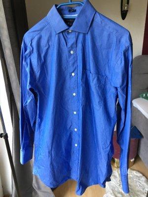 Tommy Hilfiger Herrenhemd blau regular fit