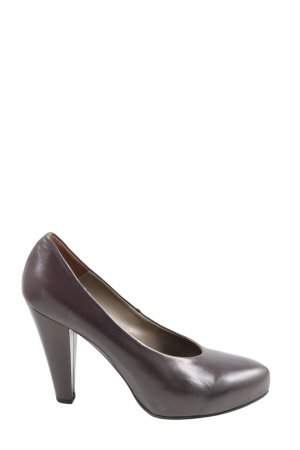 Tommy Hilfiger High Heels lila Business-Look