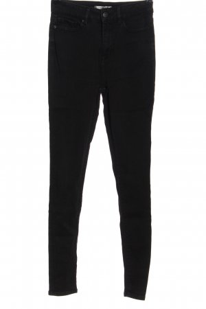 Tommy Hilfiger High Waist Jeans schwarz Casual-Look