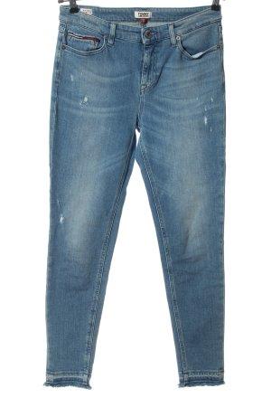 Tommy Hilfiger Jeans taille haute bleu style décontracté
