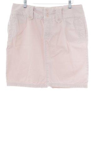 Tommy Hilfiger High Waist Rock rosé Casual-Look