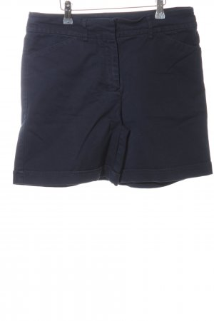 Tommy Hilfiger High-Waist-Shorts blau Casual-Look