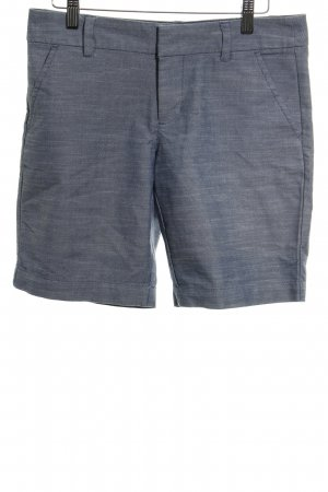 Tommy Hilfiger High-Waist-Shorts graublau meliert Casual-Look