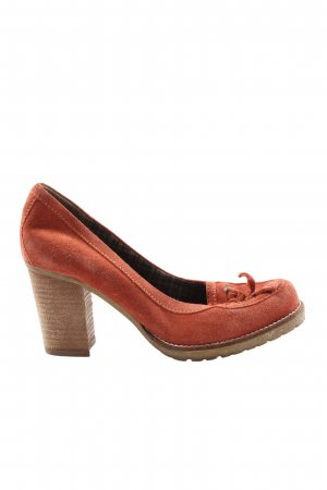 Tommy Hilfiger Hochfront-Pumps rot Casual-Look