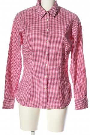 Tommy Hilfiger Lumberjack Shirt red-white check pattern casual look