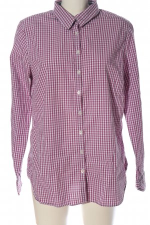 Tommy Hilfiger Holzfällerhemd pink-weiß Allover-Druck Casual-Look