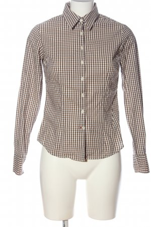 Tommy Hilfiger Lumberjack Shirt brown-white allover print business style