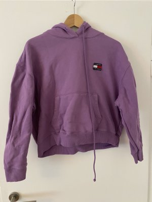 Tommy Hilfiger Capuchon sweater lila