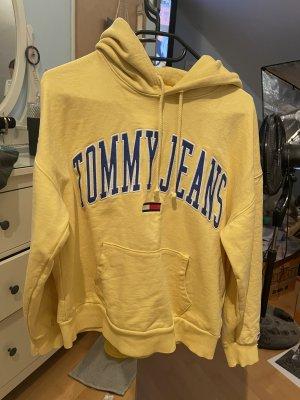 Tommy Hilfiger Capuchon sweater geel